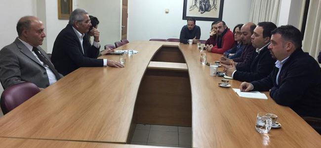 Federal Kıbrıs İnisiyatifi ve AKEL bir araya geldi