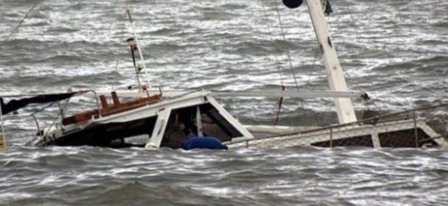 Çinde tekne battı: 20 kayıp