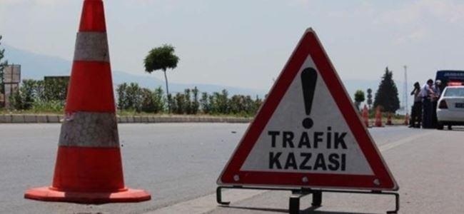Lefkoşa'da motor kazası: 1 ağır yaralı