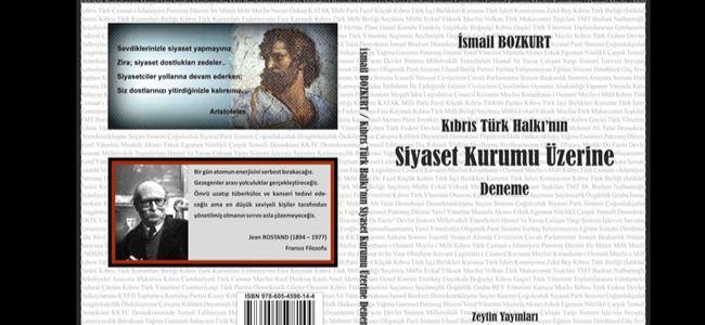 Bozkurt'tan yeni kitap