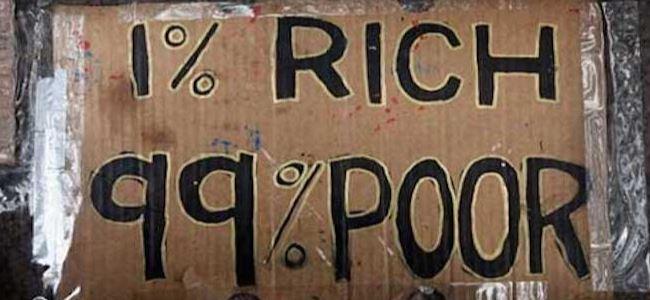 Dünya'nın serveti %1'in elinde