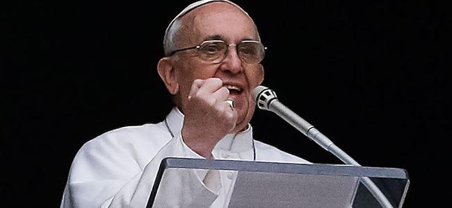 Papa, Yumruk sözlerine açıklık getirdi