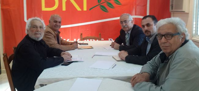 Yeni Kıbrıs Derneği, BKP'yi ziyaret etti