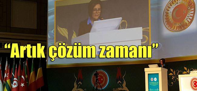 Siber İSİPAB Konferansı'nda konuştu