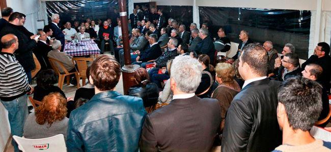 Eroğlu Taşkınköy'de vatandaşla buluştu
