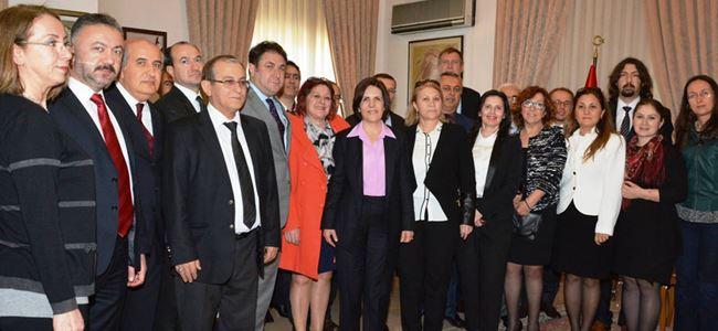 Siber, Türkiye Dostluk Kulüpleri Platformu'nu kabul etti