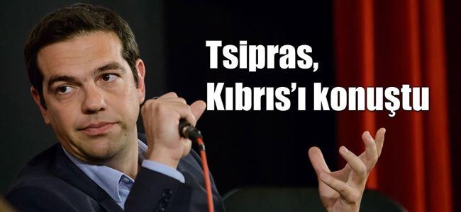 Tsipras, Kıbrıs sorunu için ne dedi?
