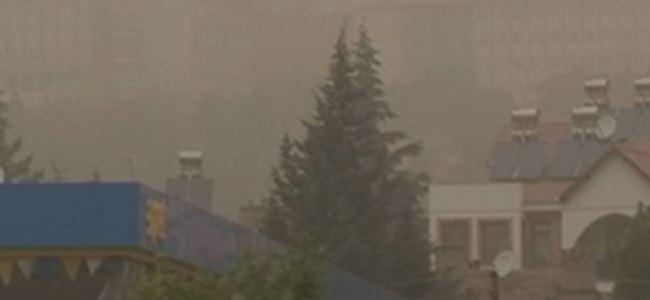 Toz bulutu yurdu terk ediyor