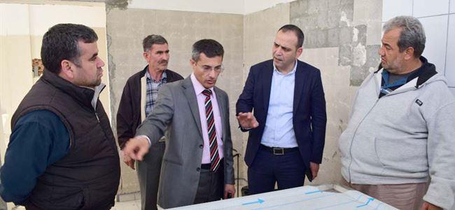 LTB, Lefkoşa Mezarlığı'ndaki gasilhaneyi yeniliyor