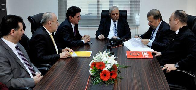 Vakıflar Bankası ile KTAMS TİS imzaladı