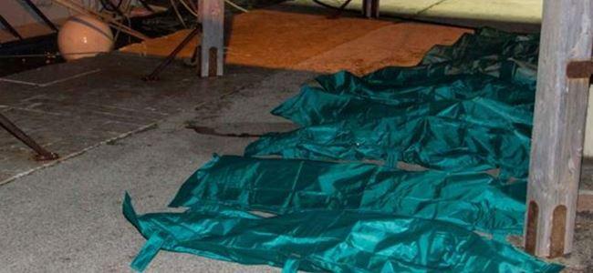 25 göçmen soğuktan öldü