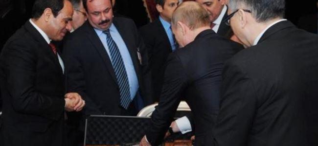 Putinden ilginç hediye