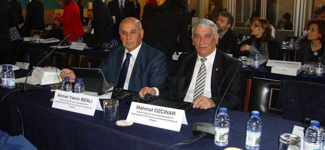 Belediyelerden uluslar arası toplantıya katılım