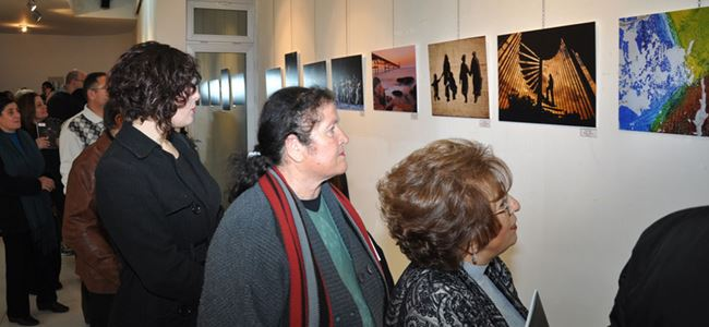 Özatay Fotoğraf Yarışmasının sergisi açıldı