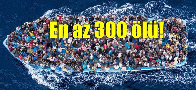 Akdenizde göçmen felaketi