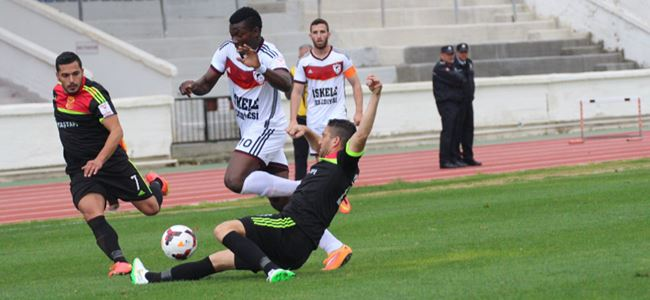 Çetinkaya'dan gol yağmuru 4-1