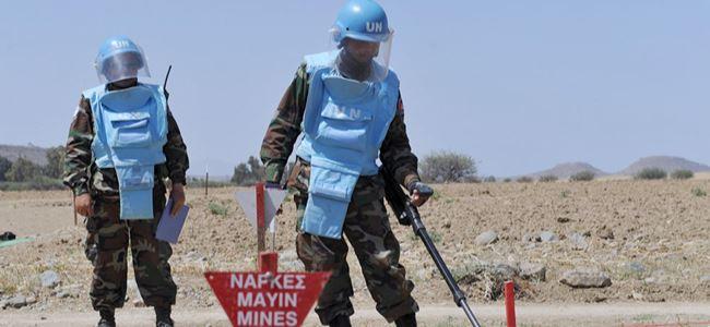 BM Barış Gücü, avcıları mayınlar konusunda uyardı