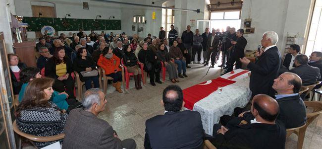 Eroğlu, köyleri ziyaret etti