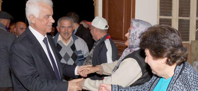 Eroğlu, Yeniceköy, Gaziköy ve Meriç'i ziyaret etti