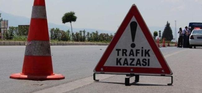 Lefkoşa Girne anayolunda kaza: 2 yaralı