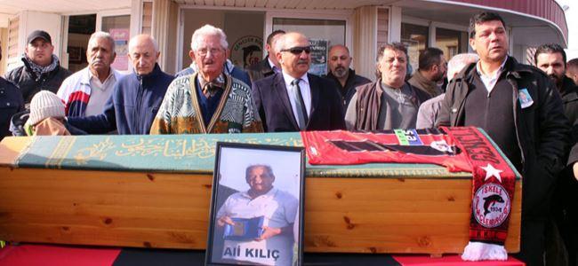 İskele Ali Kılıç hocasını uğurladı