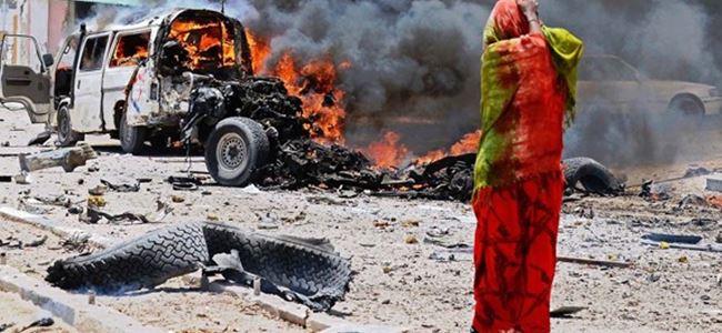 Somalide patlama