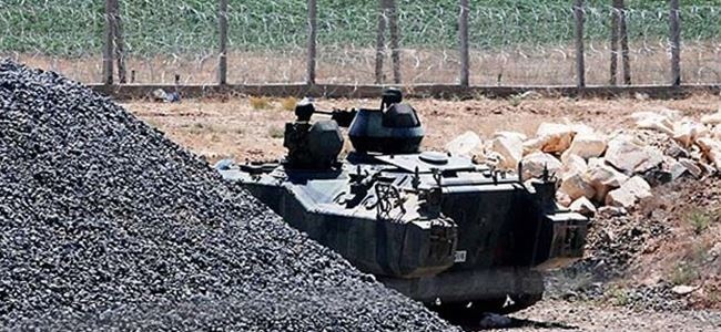 Ermenistan-Azerbaycan cephe hattında çatışma...