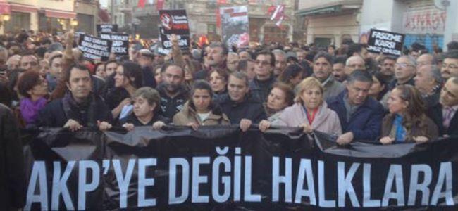"""""""AKP'ye değil halklara güvenlik"""""""