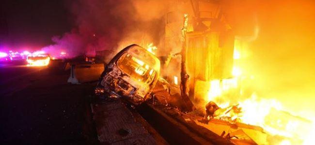 LPG tankı patladı... 10 ölü