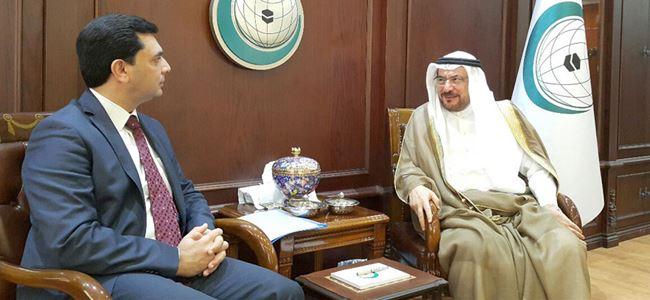 Nami, İİT Genel Sekreteri Madani ile görüştü
