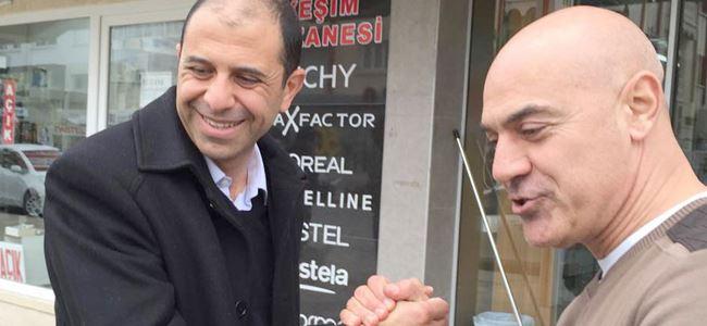 Özersay, Taşkınköy ve Metropol Bölgesini ziyaret etti