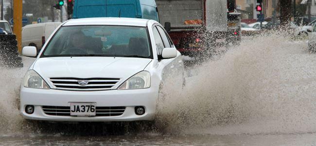 En çok yağış Türkeli'ye düştü