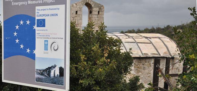 Panagia Melandrinanın restorasyonu tamamlandı