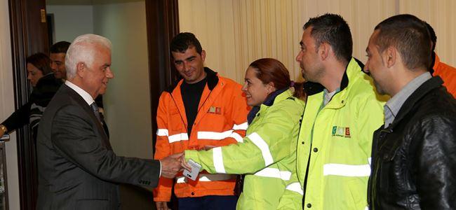 CAS çalışanları Eroğlu'ndan destek istedi