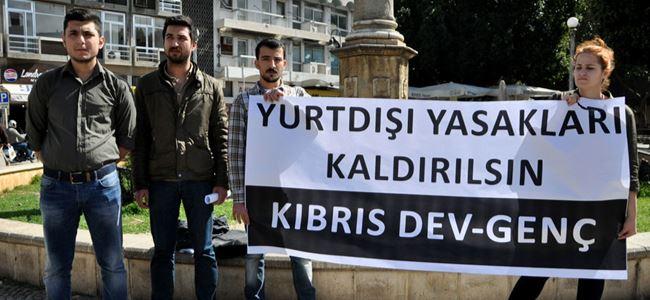Kıbrıs Dev-Genç, açlık grevi başlattı
