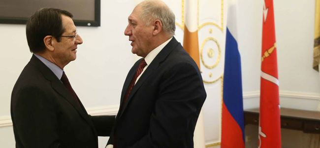 Anastasiadis, Rusya temaslarını tamamladı