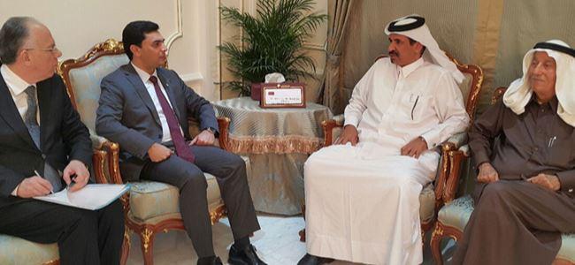 Bakan Namiyi Katarda görmekten çok mutlu olduk