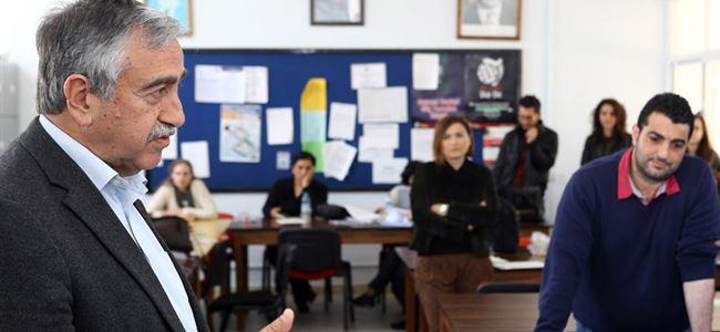 Akıncı Mağusadaki okulları ziyaret etti