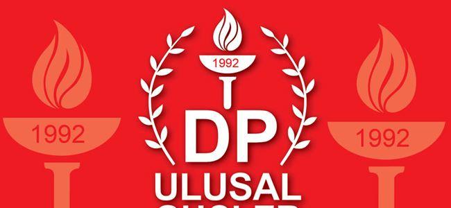 DP-UG'den Denktaş'a destek