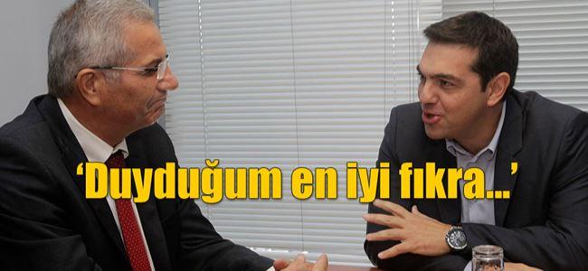 Tsipras - Kiprianu görüşmesi