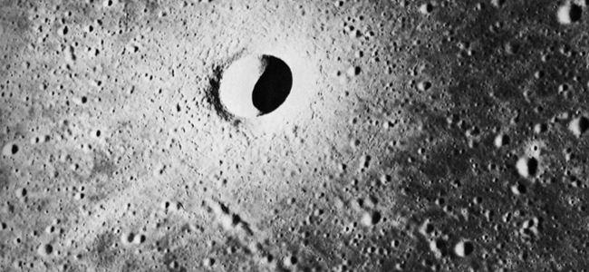 Ayda yeni bir krater keşfedildi