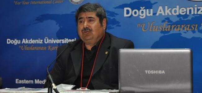 DAÜ, Cumhurbaşkanı Adayı Arif Salih Kırdağ`ı konuk etti