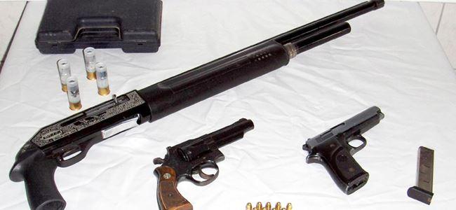 Tasarruftaki ateşli silah SUÇ MAKİNESİ