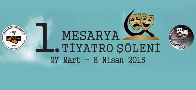 Mesarya 1. Tiyatro Şöleni başlıyor