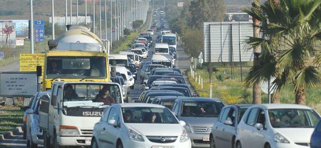 Dikkat bu yollar trafiğe KAPALI