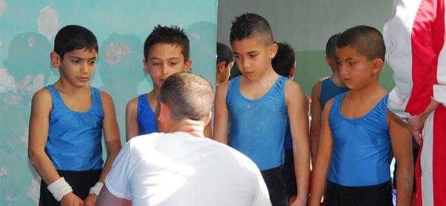 Küçük sporcular Konya yolcusu