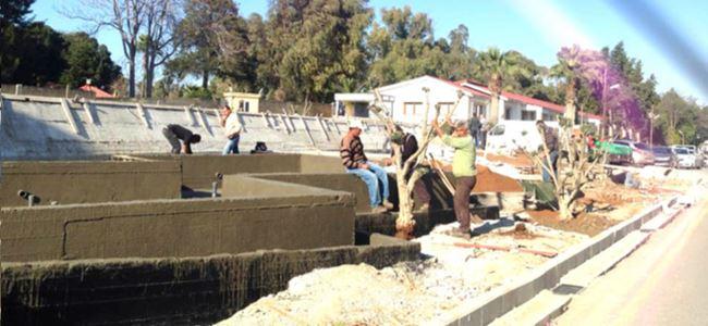 Saray'da 'kaçak inşaat'a DEVAM