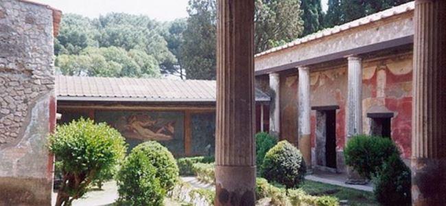 Pompei'nin en geniş villası açıldı