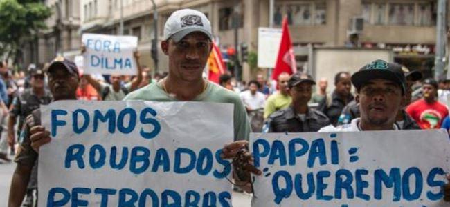 Brezilya'da dev gösteriler