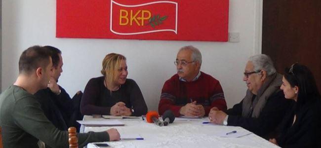 Türkiye'den Halkların Demokratik Partisi, BKP'yi ziyaret etti